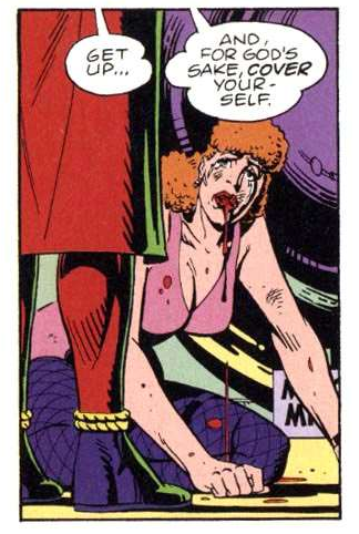 Image taken from DC Comics' Watchmen By Alan Moore and Dave Gibbons.