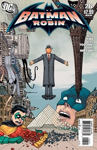 Le Jardin Noir – France's very own Arkham Asylum falls under siege! Someone has freed the lunatics, and unless they can be stopped, they'll turn Paris into a surreal Hell on Earth! Batman and Robin join Nightrunner in a mind-bending battle with the strangest lineup of villains this side of Bizarro World.