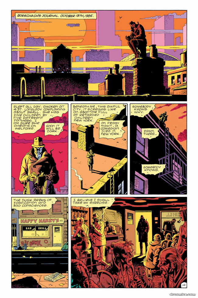 watchmen the psychology of rorschach the graphic novel