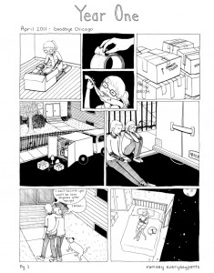 year one first page